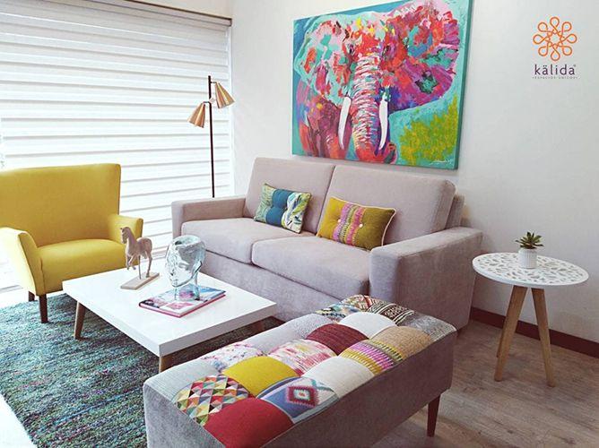 La nueva tendencia, muebles coloridos.