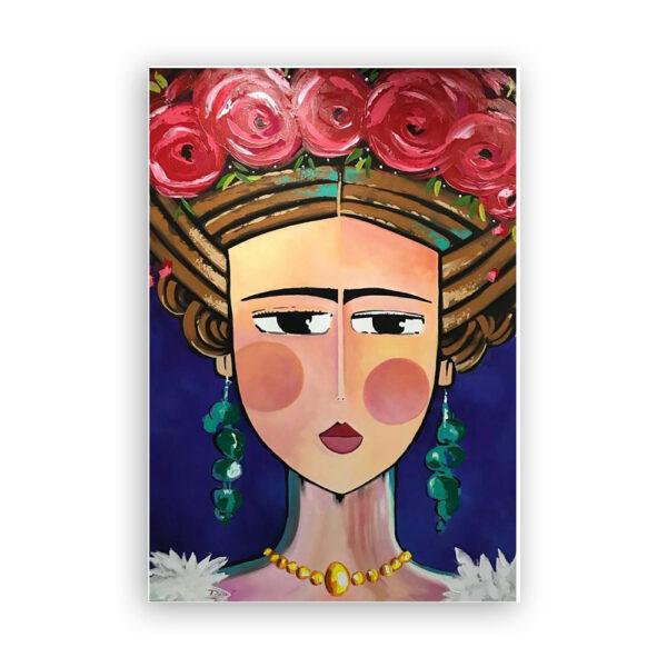 Cuadro Frida Contemporánea