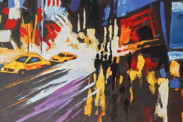 Cuadro New York Abstracto