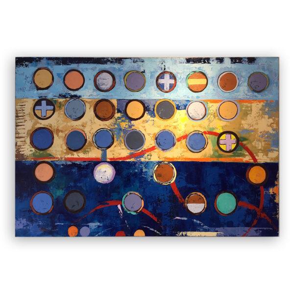 Cuadro Abstracto Esferas